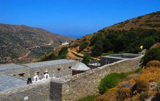Andros Monasteries Tour