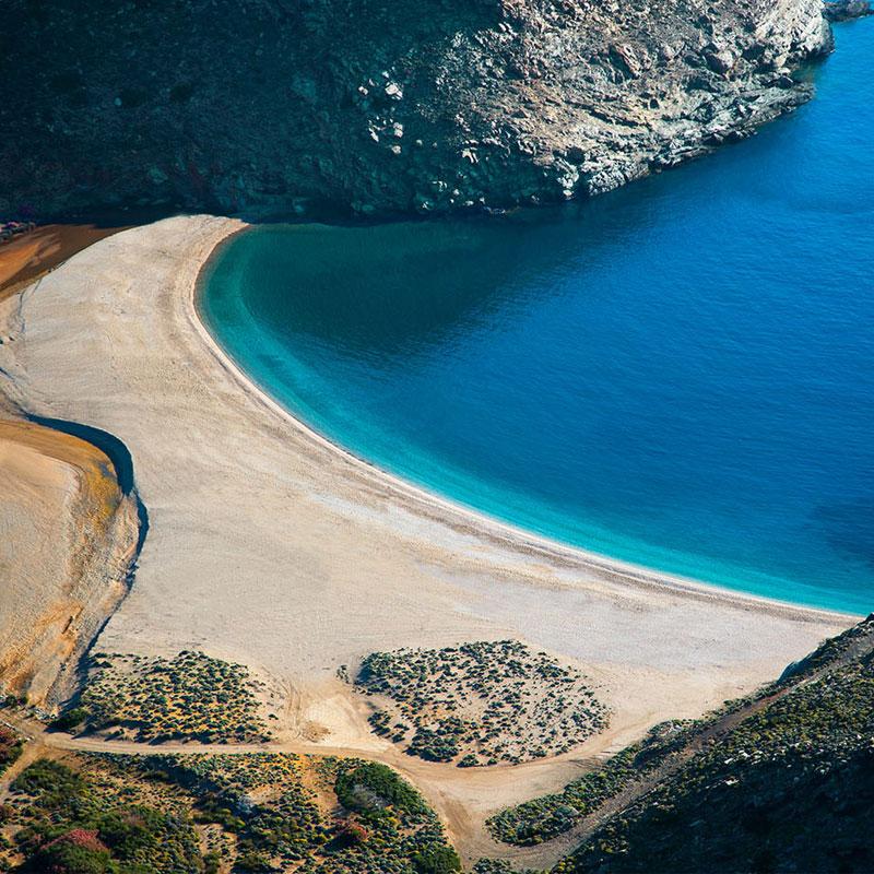 Zorkos Βeach Tour in Andros